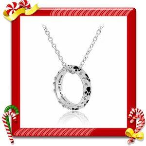 Jewelry - Paw prints necklace